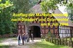 Bilder vom Ausflug der Markusgemeinde sind jetzt online